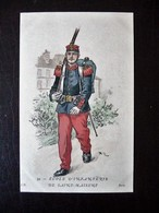 Paris Hergestellt Frankreich Ecole D'Infanterie De Saint-Maxent Ca. 1910 ? Sammlungsauflösung - Uniformen