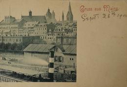 Mainz / Gruss Aus // Ca 1899 Probedruck? - Mainz