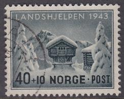 NORWAY 1943 (Mi.# 294) National Relief Fund - 40+10 øre - Norwegen