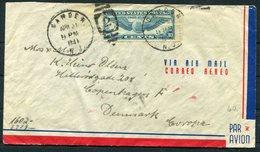 1941 USA 2 X Censor Airmail Covers - Copenhagen Denmark - United States