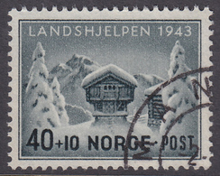 NORWAY 1943 (Mi.# 294) National Relief Fund - 40+10 øre - Norvège