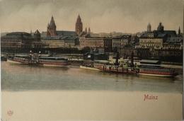 Mainz / Gruss Aus // Rudderschiff Ca 1899 - Mainz