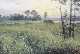 Art - The Field In Spring By Min-chul, DPR Korea, China's Postcard - Malerei & Gemälde