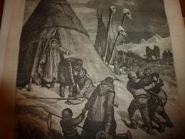 1883 JdV :Equipage Du FRAYA (texte Et Gravure); Docteur LENZ  (texte Et Gravure); Etc - Livres, BD, Revues