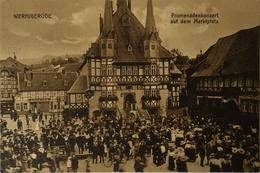 Wernigerode // Promenadenkonzert Auf Dem Marktplatz 19?? - Wernigerode