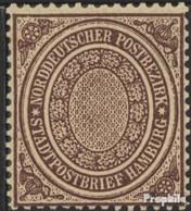 Norddeutscher Postbezirk 24a (kompl.Ausg.) Ungebraucht 1869 Freimarke - North German Conf.