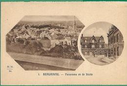 ! - Belgique - Beauraing - Panorama Et La Station - Beauraing