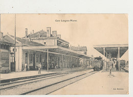 52 GARE LANGRES MARNE CPA BON ETAT - Stations With Trains
