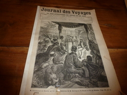 1883 JdV :Savorgnan De Brazza ; Département Du VAR (carte Et Gravure); Etc (document En Très Mauvais état) - Livres, BD, Revues