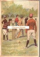 Chromo Chocolat De L'UNION Thiers 63 - Sports : BASEBALL  -  Scans Recto Verso - Chocolat