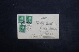 ALBANIE - Enveloppe De Tirane Pour Paris En 1936 , Affranchissement Plaisant - L 25527 - Albania