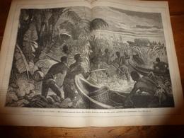 1883 JdV : Les Pirates Du Lac TCHAD ; Terrible Catastrophe Du Vaisseau ROYAL-ALBERT En Rade D'Honolulu;etc - Livres, BD, Revues