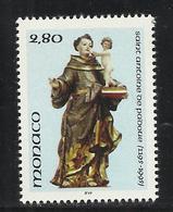 MONACO , 2.80 Frs , 800 Anniversaire De La Naissance De St Antoine De Padoue , 1995 , N° YT 1997 , NEUF ** - Neufs