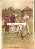 Chromo Chocolat De L'UNION Thiers 63 - Sports : GOLF -  Scans Recto Verso - Chocolat