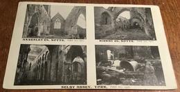 Annesley Church, Notts. Fire Jan, 1907 ~ Kirkby Church, Notts. Fire Jan. 1907 ~ Selby Abbey, York. Fire Oct, 1906 - England
