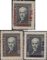 Polonia P81v-P83 (completa Edizione) Con Fold 1934 Francobolli - 1919-1939 Republic