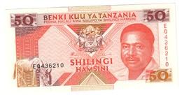Tanzania 50 Shillings 1993 UNC .C3. - Tanzanie