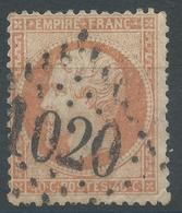 Lot N°46947  N°23, Oblit GC1020 Cholet, Maine-et-Loire (47), Déchirures - 1862 Napoléon III