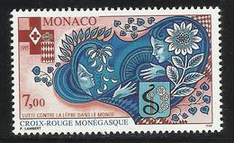 MONACO , 7 Frs , Croix Rouge Monégasque , 1995 , N° YT 2000 , NEUF ** - Monaco