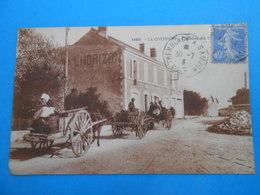 """17) La Cotinière - N° 12405 - Hotel De L'horison """" Attelages """"  - Année  - EDIT : Bergevin - Ile D'Oléron"""