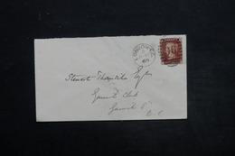 ROYAUME UNI - Enveloppe De Londres En Port Local En 1869 , Affranchissement Plaisant - L 25532 - Marcophilie