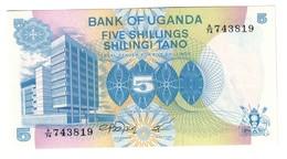 Uganda 5 Shillings 1979 UNC .C3. - Uganda