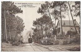 """Saint Brevin L' Océan Train Avenue Centrale Près La Villa """" Chanteclerc """" - Saint-Brevin-l'Océan"""