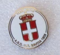 ASD Savoia - Associazione Sportiva Dilettantistica Unione Sportiva Savoia 1908 Calcio - Distintivo Spilla Torre Annunzia - Calcio
