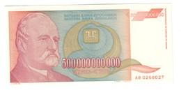 Yugoslvia 500000000000 Dinara 1993 UNC .C3. - Jugoslavia