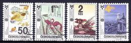 Tchécoslovaquie 1987 Mi 2921-4 (Yv 2732-5), Obliteré - Tchécoslovaquie