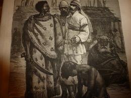 1883 JdV : Voyage De Brau De St-Pol-Lias à Pérak Et Chez Les Orangos-Sakéys;Le GREAT-EASTERN; Etc - Livres, BD, Revues