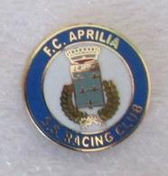 FC Aprilia SS Rancing Club Calcio - Distintivo Spilla Lazio - Calcio