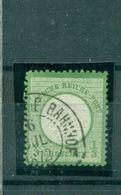 Deutsches Reich, Kleiner Brustschild Nr. 2 B Befund BPP Gestempelt - Gebraucht