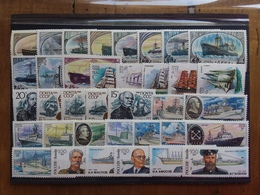 RUSSIA Anni '70/'80 - Lotticino 36 Navi E Navigatori - Nuovi ** + Spese Postali - Nuovi