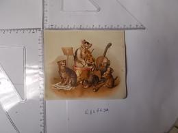 Chromo Thiery Aimé&sigrand Chats Jouant De La Musique Voir Photo Recto/verso - Autres