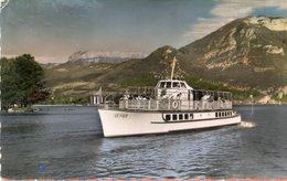 BATEAU(LAC LEMAN) ANNECY(LE FIER) - Transbordadores