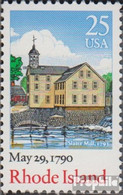 USA 2091 (kompl.Ausg.) Postfrisch 1990 Verfassung Rhode Island - Etats-Unis
