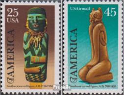 USA 2055-2056 (kompl.Ausg.) Postfrisch 1989 Kunst Und Brauchtum - Etats-Unis