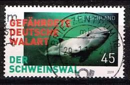 Bund 2019, Michel# 3433 O Der Schweinswal - Gefährdete Deutsche Walart - [7] République Fédérale