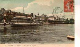 BATEAU(LAC LEMAN) EVIAN LES BAINS - Ferries