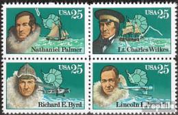 USA 2004-2007 Viererblock (kompl.Ausg.) Postfrisch 1988 Antarktis-Forscher - Etats-Unis