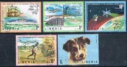 Liberia 1974  -  Yvert 633 / 36 + 640  ( Usados ) - Liberia