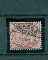 Deutsches Reich, Wertziffer Im Oval, Nr. 37 F Gestempelt, Geprüft BPP - Allemagne