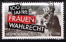 Bund 2019, Michel# 3435 O 100 Jahre Frauenwahlrecht - [7] République Fédérale