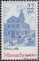 USA 1969 (kompl.Ausg.) Postfrisch 1988 Verfassung Massachusetts - Etats-Unis