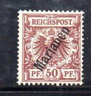 XP4401 - MARIANNE MARIANEN 1899 , 50 Pf N. 6  * Nuovo  (2380A) - Colonie: Mariannes