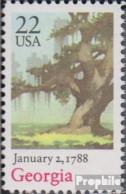 USA 1960 (kompl.Ausg.) Postfrisch 1988 Verfassung Georgia - Etats-Unis