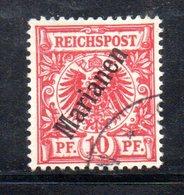 XP4402 - MARIANNE MARIANEN 1899 , 50 Pf N. 3  Usato  (2380A) - Colonie: Mariannes