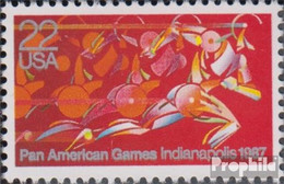 USA 1863 (kompl.Ausg.) Postfrisch 1987 Panamerikanische Spiele - Etats-Unis