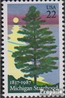 USA 1862 (kompl.Ausg.) Postfrisch 1987 150 Jahre Michigan - Etats-Unis